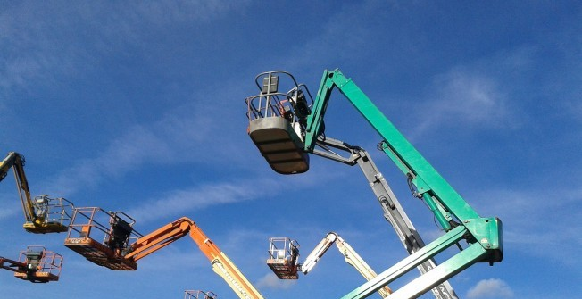Spider Lift Hire in Aberbeeg